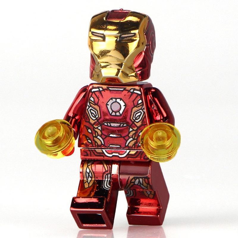 Herobloks Iron Man Mk 45 Chrome